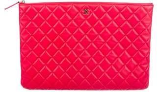 Chanel 2017 Lambskin O-Case