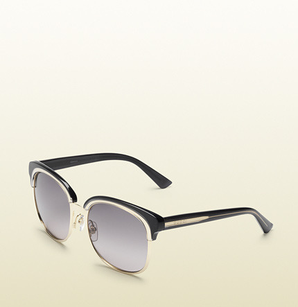 Gucci Oversize Double Frame Sunglasses