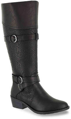Easy Street Shoes Kelsa Wide Calf Riding Boot - Women's