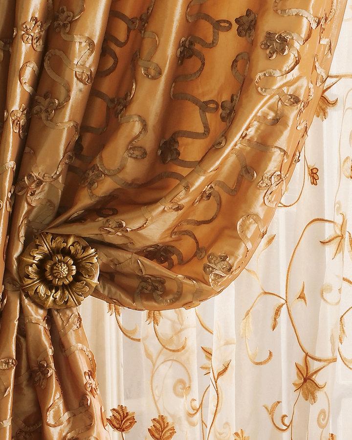 Horchow Each 54W x 96L Curtain