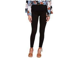 Free People Ultra High Pull-On Skinny in Black Women's Jeans