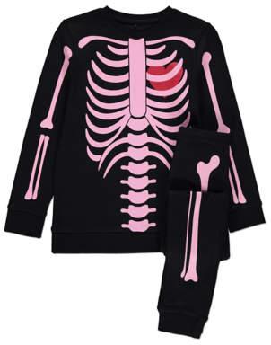 George Halloween Glow in the Dark Skeleton Pyjamas