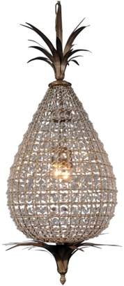 French Country Collections Crystal Pineapple Chandelier Large