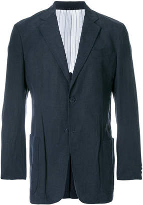Armani Collezioni tailored fitted blazer