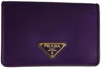 Prada Leather card wallet