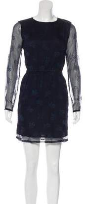Band Of Outsiders Silk Crepe Dress w/ Tags