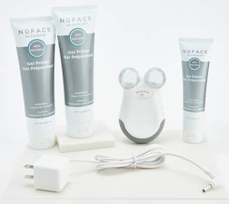 NuFace Mini Face & Neck Toning Device with 6-Month Supply of Gels