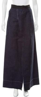Ter Et Bantine Denim Maxi Skirt
