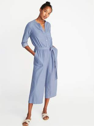 Old Navy Waist-Defined Utility Jumpsuit for Women