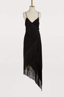 Givenchy Asymmetric plunge dress