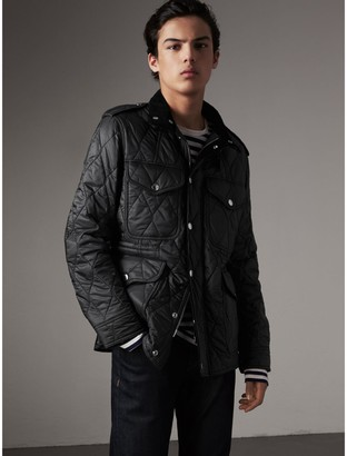 Burberry Diamond Quilted Field Jacket