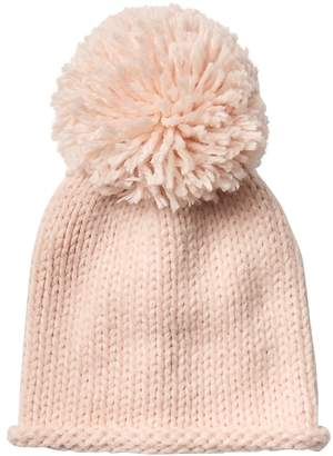 Athleta Girl Oversize Pom Pom Sweater Beanie
