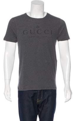 Gucci Logo Print Short Sleeve T-Shirt