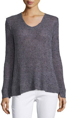 Bobeau Britta Loose-Weave Sweater $39 thestylecure.com