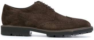 Tod's brogue detail derby shoes