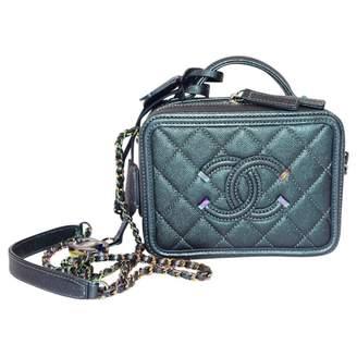 Chanel Vanity exotic leathers mini bag