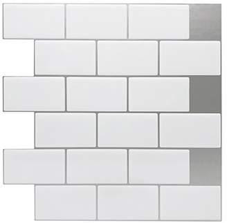 "Art3d 12""x12"" Peel and Stick Backsplash Tile Sticker for Kitchen"