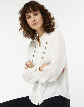 Monsoon Marissa Military Blouse