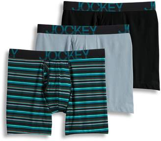 Jockey Men's 3-pack ActiveStretch Midway Briefs