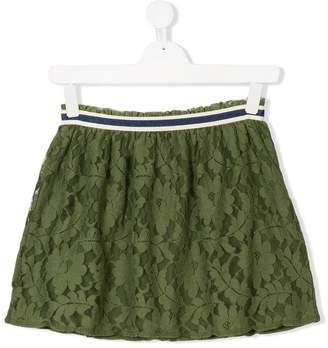 Bellerose Kids TEEN floral lace patterned skirt
