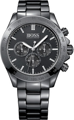 HUGO BOSS 1513197 ikon ceramic watch $455 thestylecure.com