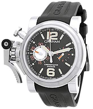 "Graham "" Chronofighter Oversize Ranger"" Stainless Steel Strap Watch"