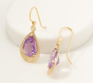 ADI Paz 14K Gold Pear Gemstone Earrings