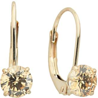 Renaissance Collection 10k Gold 1-ct. T.W. Yellow Cubic Zirconia Drop Earrings - Made with Swarovski Zirconia