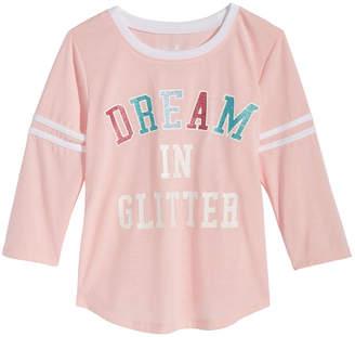 Max & Olivia Graphic-Print Pajama Top, Little Girls & Big Girls