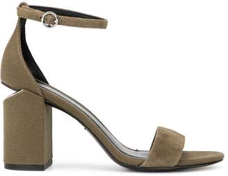 Alexander Wang Abby block heel sandals