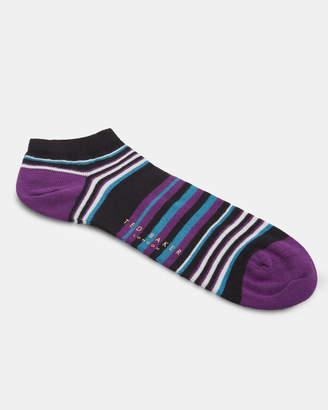 Ted Baker CALITHE Striped cotton sneaker socks