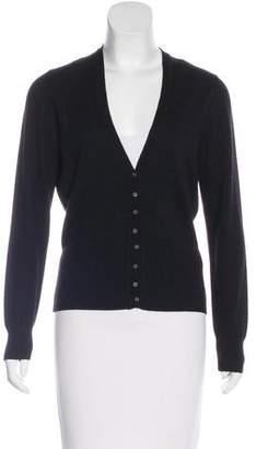 Malo Wool & Cashmere-Blend Cardigan