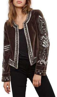 Velvet Peggie Embellished Jacket