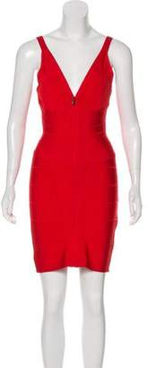 Herve Leger Pasha Bandage Dress
