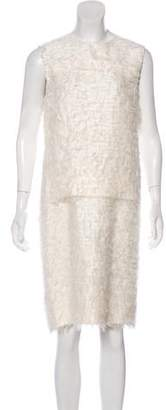 Calvin Klein Collection Sleeveless Knee-Length Dress