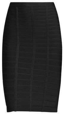 Herve Leger Sia Bandage Pencil Skirt