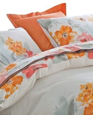 Delices Anne De Solene Reversible Cotton Queen Duvet Cover