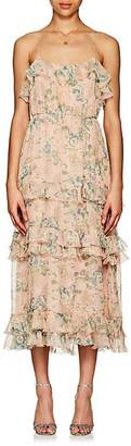 Zimmermann Women's Tempest Floral Silk Maxi Dress