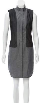 Alexander Wang Sleeveless Knee-Length Dress Grey Sleeveless Knee-Length Dress