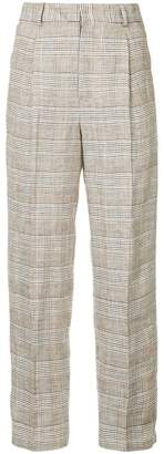 Aula checked trousers