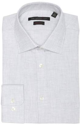 John Varvatos Heathered Regular Fit Dress Shirt