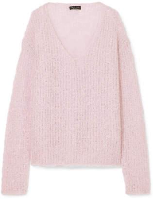 Rag & Bone Freda Open-knit Mohair-blend Sweater