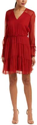 Shoshanna Silk Shift Dress