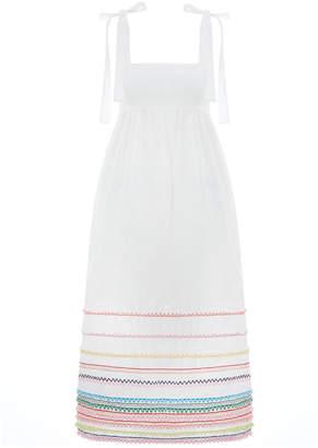 Zimmermann Laelia Tie Shoulder Dress