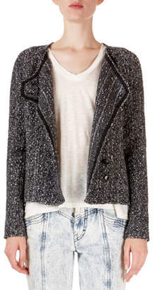 Isabel Marant Helba Asymmetric Boucle Jacket