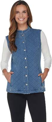 Factory Quacker DreamJeannes Quilted Barn Vest