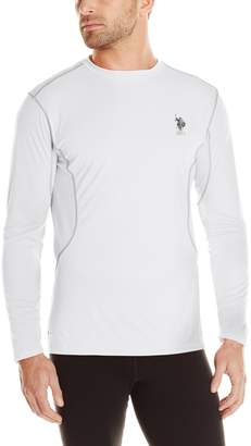 U.S. Polo Assn. Mens Performance Long Sleeve T-Shirt
