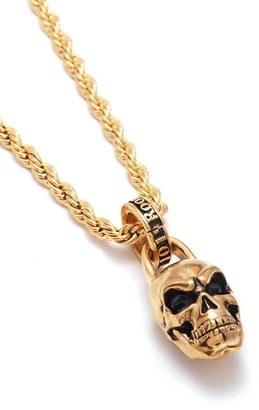 Men's Room101 Skull Pendant Necklace $75 thestylecure.com