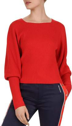 The Kooples Juliet-Sleeve Sweater