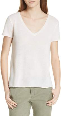 ATM Anthony Thomas Melillo Cashmere V-Neck Tee